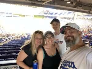 Graham attended Miami Marlins vs. Los Angeles Dodgers - MLB on Jul 5th 2021 via VetTix