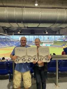 Jared Bronson attended Miami Marlins vs. Los Angeles Dodgers - MLB on Jul 5th 2021 via VetTix