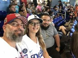 Richard attended Miami Marlins vs. Los Angeles Dodgers - MLB on Jul 5th 2021 via VetTix
