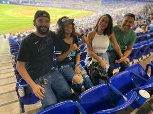Lynn attended Miami Marlins vs. Los Angeles Dodgers - MLB on Jul 5th 2021 via VetTix