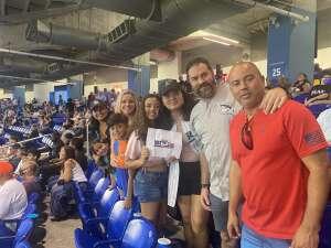 Rafael attended Miami Marlins vs. Los Angeles Dodgers - MLB on Jul 5th 2021 via VetTix