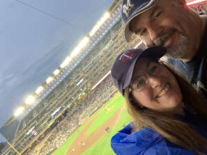 John R attended Minnesota Twins vs. Milwaukee Brewers - MLB on Aug 28th 2021 via VetTix