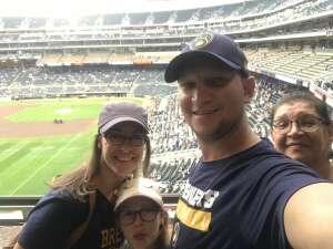 Troy attended Minnesota Twins vs. Milwaukee Brewers - MLB on Aug 28th 2021 via VetTix