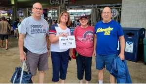 Emily attended Minnesota Twins vs. Milwaukee Brewers - MLB on Aug 28th 2021 via VetTix