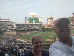 Robin attended Minnesota Twins vs. Milwaukee Brewers - MLB on Aug 28th 2021 via VetTix