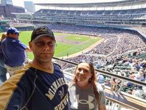 Gary attended Minnesota Twins vs. Milwaukee Brewers - MLB on Aug 28th 2021 via VetTix