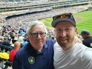 Ben Nugent attended Minnesota Twins vs. Milwaukee Brewers - MLB on Aug 28th 2021 via VetTix