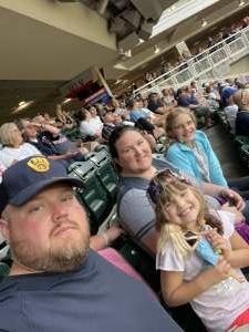 Enjoyable Family Night attended Minnesota Twins vs. Milwaukee Brewers - MLB on Aug 28th 2021 via VetTix