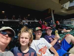 Jenica attended Minnesota Twins vs. Milwaukee Brewers - MLB on Aug 28th 2021 via VetTix