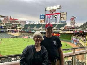 Gary Schroeder  attended Minnesota Twins vs. Milwaukee Brewers - MLB on Aug 28th 2021 via VetTix