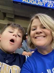 Sheree Pechacek attended Minnesota Twins vs. Milwaukee Brewers - MLB on Aug 28th 2021 via VetTix