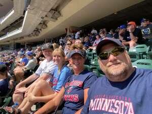 Paul Krumrei attended Minnesota Twins vs. Milwaukee Brewers - MLB on Aug 29th 2021 via VetTix