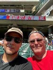 Steve Hadley attended Minnesota Twins vs. Milwaukee Brewers - MLB on Aug 29th 2021 via VetTix