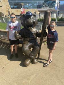Kelly attended Minnesota Twins vs. Milwaukee Brewers - MLB on Aug 29th 2021 via VetTix
