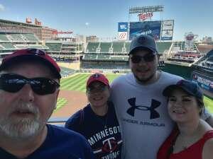 olaf424 attended Minnesota Twins vs. Milwaukee Brewers - MLB on Aug 29th 2021 via VetTix