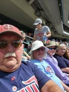 Ken Warner attended Minnesota Twins vs. Milwaukee Brewers - MLB on Aug 29th 2021 via VetTix