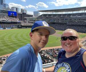 English Family attended Minnesota Twins vs. Milwaukee Brewers - MLB on Aug 29th 2021 via VetTix