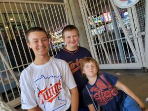Jenica attended Minnesota Twins vs. Milwaukee Brewers - MLB on Aug 29th 2021 via VetTix