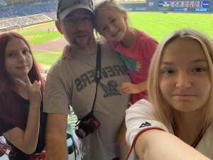 The Jacobs Family attended Minnesota Twins vs. Milwaukee Brewers - MLB on Aug 29th 2021 via VetTix