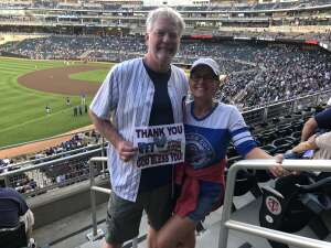 Click To Read More Feedback from Minnesota Twins vs. Chicago Cubs - MLB