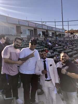 Luis attended Premier Boxing Champions - Colbert vs. Nyambayar on Jul 3rd 2021 via VetTix