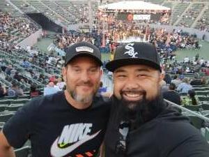 Chris, USA attended Premier Boxing Champions - Colbert vs. Nyambayar on Jul 3rd 2021 via VetTix