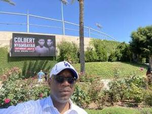 MDG attended Premier Boxing Champions - Colbert vs. Nyambayar on Jul 3rd 2021 via VetTix