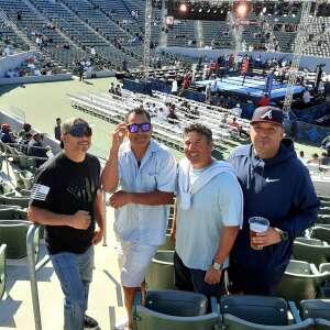 Justin attended Premier Boxing Champions - Colbert vs. Nyambayar on Jul 3rd 2021 via VetTix