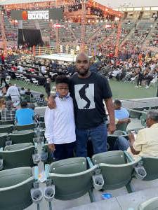 Demitrius Lewis attended Premier Boxing Champions - Colbert vs. Nyambayar on Jul 3rd 2021 via VetTix