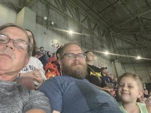 Joe attended Massachusetts Pirates vs. Bismarck Bucks - Professional Arena Football ** Military Appreciation Night ** on Jul 10th 2021 via VetTix