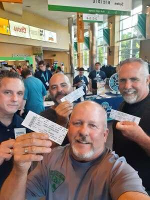 James Kearney attended Massachusetts Pirates vs. Bismarck Bucks - Professional Arena Football ** Military Appreciation Night ** on Jul 10th 2021 via VetTix