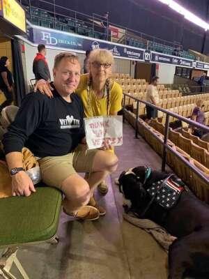 Howard Norcross attended Massachusetts Pirates vs. Bismarck Bucks - Professional Arena Football ** Military Appreciation Night ** on Jul 10th 2021 via VetTix