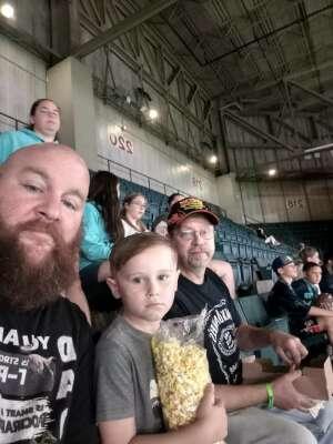 Eddie attended Massachusetts Pirates vs. Bismarck Bucks - Professional Arena Football ** Military Appreciation Night ** on Jul 10th 2021 via VetTix