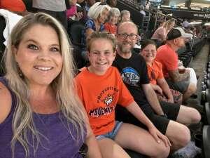 Burton Piper attended Phoenix Mercury vs. Los Angeles Sparks - WNBA on Jun 27th 2021 via VetTix