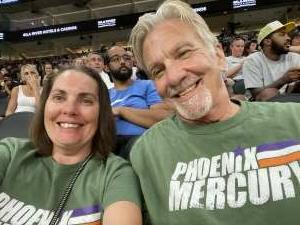 Joy attended Phoenix Mercury vs. Los Angeles Sparks - WNBA on Jun 27th 2021 via VetTix