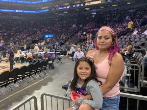 Janice attended Phoenix Mercury vs. Los Angeles Sparks - WNBA on Jun 27th 2021 via VetTix