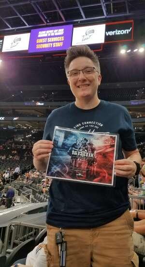 Jimmie  attended Phoenix Mercury vs. Los Angeles Sparks - WNBA on Jun 27th 2021 via VetTix