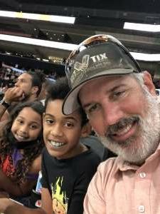 BG attended Phoenix Mercury vs. Los Angeles Sparks - WNBA on Jun 27th 2021 via VetTix