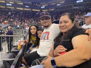 Danny attended Phoenix Mercury vs. Los Angeles Sparks - WNBA on Jun 27th 2021 via VetTix