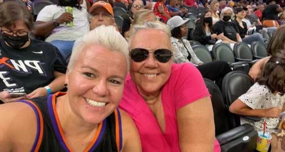 Steffanie Burawa  attended Phoenix Mercury vs. Los Angeles Sparks - WNBA on Jun 27th 2021 via VetTix
