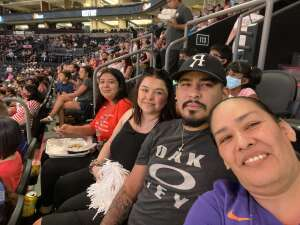 Alicia Heraldez attended Phoenix Mercury vs. Los Angeles Sparks - WNBA on Jun 27th 2021 via VetTix