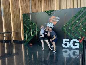 Jarrad Spinner attended Phoenix Mercury vs. Los Angeles Sparks - WNBA on Jun 27th 2021 via VetTix
