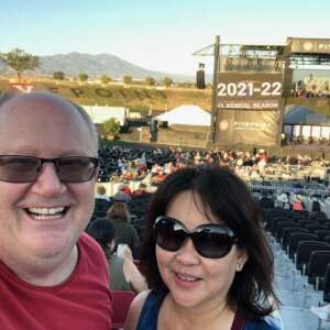 Robb attended Pacific Symphony Orchestra July 4th Spectacular - Elton John Tribute on Jul 4th 2021 via VetTix