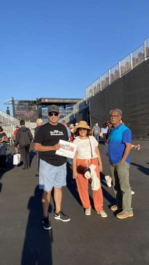GunnyMabus attended Pacific Symphony Orchestra July 4th Spectacular - Elton John Tribute on Jul 4th 2021 via VetTix