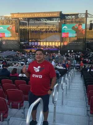 Pedro attended Pacific Symphony Orchestra July 4th Spectacular - Elton John Tribute on Jul 4th 2021 via VetTix
