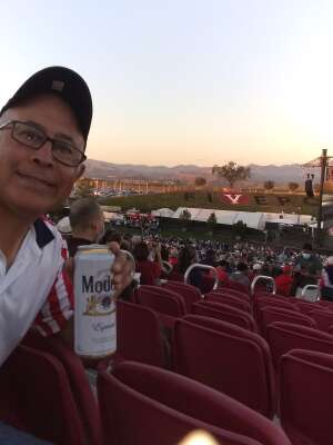 TSGT Castro (Retired) attended Pacific Symphony Orchestra July 4th Spectacular - Elton John Tribute on Jul 4th 2021 via VetTix