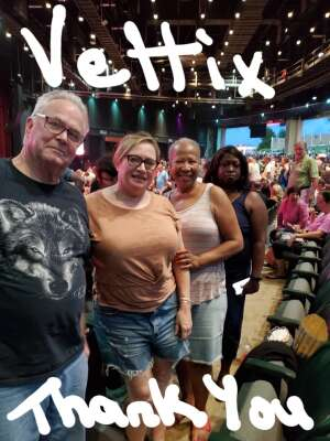Sandy attended An Evening With Chicago and Their Greatest Hits on Jul 17th 2021 via VetTix