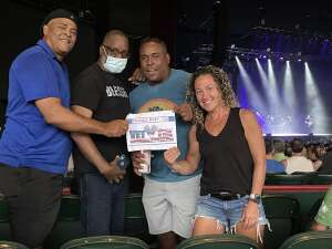 BIGHARV attended An Evening With Chicago and Their Greatest Hits on Jul 17th 2021 via VetTix