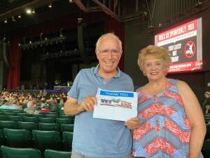 John S attended An Evening With Chicago and Their Greatest Hits on Jul 17th 2021 via VetTix