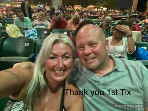 Mon Pogo attended An Evening With Chicago and Their Greatest Hits on Jul 17th 2021 via VetTix